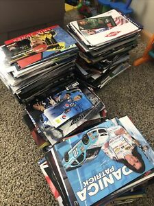 100- Lot of Different NASCAR Postcards Jeff Gordon Chase Hero Card Various Years