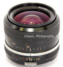 Nikon NIKKOR 24mm 1:2.8 24mm F2.8 FAST ULTRA-Wide-Angle Lens for FILM & Digital