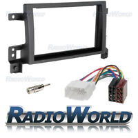 Suzuki Grand Vitara Stereo Radio Fitting Kit Fascia Panel Adapter Double Din