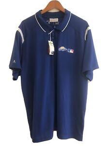 Antigua Snapple MLB Baseball Golf Polo Shirt NWT Mens (2XL)