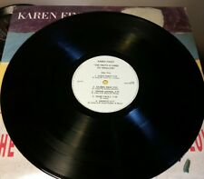 KAREN FINLEY TRUTH IS HARD TO SWALLOW LP NEW WAVE PUNK ART Sushi Party