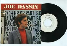 45 RPM EP JOE DASSIN EXCUSE ME LADY (TEST PRESSING 1966)