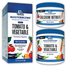 Masterblend Official 4 18 38 Tomato Vegetable Fertilizer Combo Kit