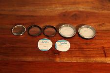 Spiratone Spiralite Close Up Lens 52 mm. +1, +3, +10 and B+W 62 mm. 1X 62 E Lens