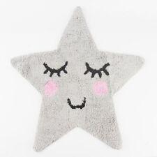 SWEET Dreams Sorridente GREY STAR Tappeto Tappetino Per Bambini Camera Da Letto Vivaio