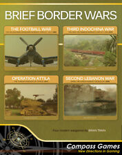 Compass Games Brief Border Wars Quadrigame Set Factory Sealed Copy