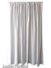 72 inch High Gray Velvet Curtain Panel w/Rod Pocket Top Drape Window Treatments