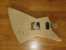 WARMOTH EXPLORER GUITAR BODY - SOLID MAPLE