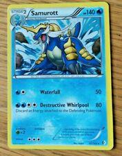 Samurott holo rare Pokemon card 41/149 2012