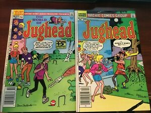 Jughead Archie Comics #343 and 577 Near Mint Condition