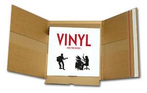 50x Emballages cartonnés qualité Premium pour disques vinyles 33t/Maxi NEUFS