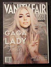 2010 VANITY FAIR Magazine #601 NM 9.4 Lady Gaga Style Issue