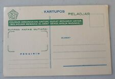 Mayfairstamps Indonesia Kartupos Mint Stationery Card wwf4129
