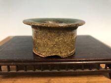 Mame Or Accent Size Bonsai Tree Pot Made By Machinao Imaoka 2 5/8� Rare Style