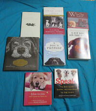 FICTION AND NON-FICTION DOG BOOKS FOR DOG LOVERS; GIFT QUALITY