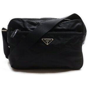 Prada Shoulder Bag  Black Nylon 1511810