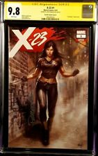 X-23 #1 CGC SS 9.8 LUCIO PARRILLO VARIANT WOLVERINE X-MEN X-FORCE DEADPOOL LOGAN