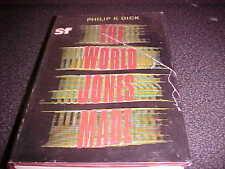 The World Jones Made Philip K Dick 1st Edition UK Sidgwick & Jackson 1968 HC DJ