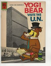 YOGI BEAR VISITS THE U.N. #1349 FILE COPY 1962 FOUR COLOR DELL COMICS SILVER AGE