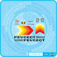 Peugeot Bicycle Decals - Transfers - Stickers - Set 7