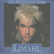 "LIMAHL Never-Ending Story PICTURE SLEEVE 7"" 45 record + juke box title strip"
