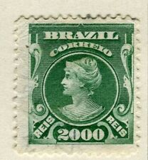 BRAZIL; 1906 early Portraits issue fine used 2000r. value