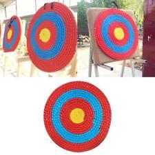 Straw archery target Ø 110 x 11 cm painted