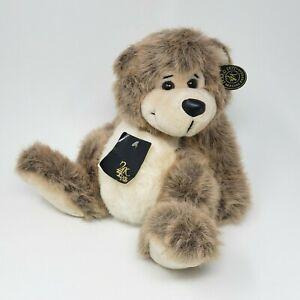 VINTAGE 1991 24K POLAR PUFF CORY TEDDY BEAR STUFFED ANIMAL PLUSH TOY W/ TAG