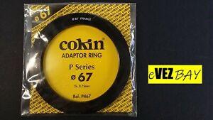 COKIN - 67 mm ANELLO ADATTATORE per filtri - P467 - ADAPTOR RING - P series