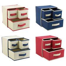 Aufbewahrungsboxen für den Wohnbereich aus Stoff stapelbare