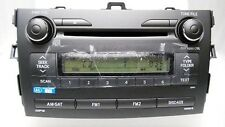 09 10 11 Toyota COROLLA OEM Factory Stereo AM FM Satelitte Radio MP3 CD Player