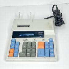 Vtg Citizen 200DP Desktop Electric Calculator Printing Digital Display Vintage