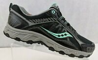Saucony Eclipse TR3 Womens Running Trail Hiking Sneakers Black/Teal US 10W UK 8