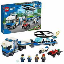 LEGO City Police Trasportatore di Elicotteri della Polizia 60244