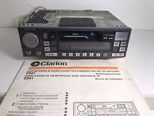 Oldtimer Autoradio Clarion E941 Stereo Original Jaguar Autoradio