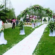 10X1m White Carpet Wedding Aisle Floor Runner Festival Ceremony Party