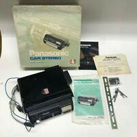 "Panasonic CX-567EU Vintage Car Stereo 8 Track Tape Deck ""USED"" OLD STOCK"