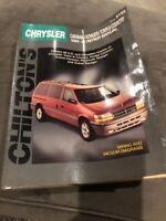 1984-1995 Chrysler Caravan, Voyager, Town & Country Repair Manual - Chilton 8155