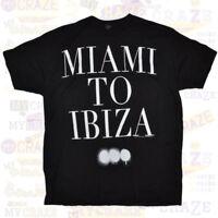 SWEDISH HOUSE MAFIA Miami to Ibiza Black Cotton T-Shirt