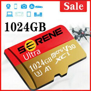 Neu Memory sd Karte 64GB 128GB 256GB mit Adapter 325MB/s Class10 Speicherkarte