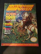 Nintendo Power Magazine Volume 26 with Metroid Poster