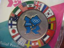 London 2012 Olympics Pin - Circle of Flags