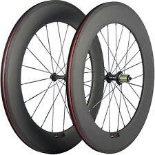 88mm Bicycle Wheelset Basalt Brake Line Road Bike Carbon Clincher Wheels Matte