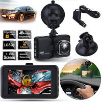 HD 1080p coche DVR camara grabadora de video dashcam Black Night Vision g Sensor