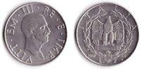 1942 Vittorio Emanuele III Lire 2 Impero Rara 2 Nichelio Conservazione  BB+