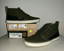 Timberland Abington Haley Chukka Wool Boots Size 10 Men Lace Up TB06627AM GREEN