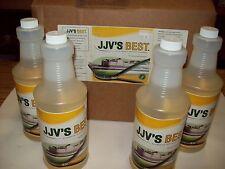 4 Quarts JJV's Best Alu-100-QT Aluminum Pontoon Cleaner=1 Gal,Free Ship