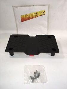 PONTIAC SOLSTICE FRONT BUMPER LICENSE PLATE HOLDER NEW GM#  10387725