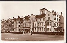 Lancashire Postcard - Royal Hotel, Southport    MB61