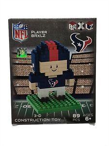 NFL BRXLZ Houston Texans 3D Construction Toy Mini Player Collectible 89 PCS New